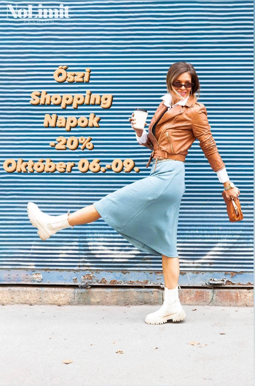 Megkezdődtek az 'Őszi Shopping Napok' a NoLimitben
