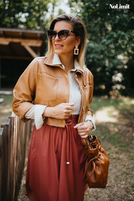 Itt a műbőr rucik szezonja - gyönyörű trendi, őszi színekben!
